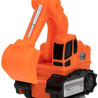 Micro Machines World Pack - Micro City - Construction Crew Excavator