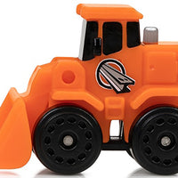 Micro Machines World Pack - Micro City - Construction Crew Front End Loader