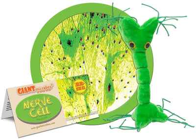 Giant Microbes Plush - Nerve Cell (Neuron)
