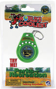World's Coolest Parks and Recreation Talking Keychain