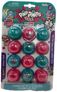 Pop Pops Pets 12 Pack Series 2 Deluxe Pack (blue & pink) front
