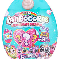 Rainbocorn Plush Sparkle Heart Surprise Series 2 - random selection (mini rainbocorn)