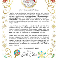 Santa Letter Golden Candy - 2A (Free Shipping)