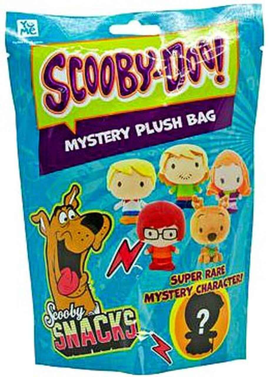 Scooby Doo Key Ring Clip-On Mystery Plush Bag (1 RANDOM Figure!)