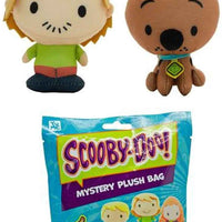 Scooby Doo Key Ring Clip-On Mystery Plush Bag Scooby and Shaggy