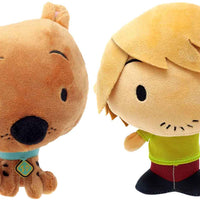 Scooby Doo & Shaggy Chibi 6-Inch Plush (Bundle of 2)
