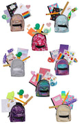 Shopkins Real Littles Backpack (Complete set of 8)