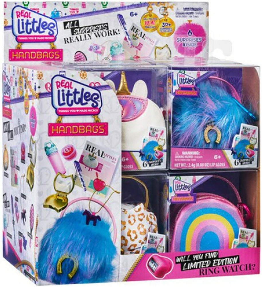 Shopkins Real Littles Handbags Series 2 (Sealed case of 18)