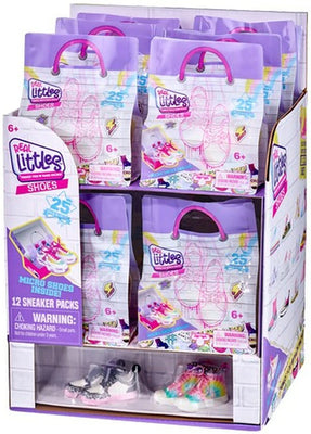 Shopkins Real Littles Sneakers (Sealed case of 12 - Mystery Packs)