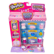 Shopkins Fashion Mall Collection. Let's hit the mall and see what's in store! The fashion mall collection has arrived.  Includes 12 Exclusive Shopkins plus 2 hidden Shopkins in new colors & finishes to admire and desire!  Check out the different departments:  Level 3 - Sleepwear Level 2 - Active Wear Level 1 - Ski Wear Will you find the Limited Edition Tracey Makeup Case hiding in the elevator?  Once you shop... You can't stop!