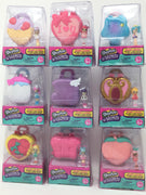 Shopkins Lil Secrets lockets - set of 9