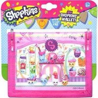 This Shopkins wallet is the perfect place to hold your money, pictures, and spare change.