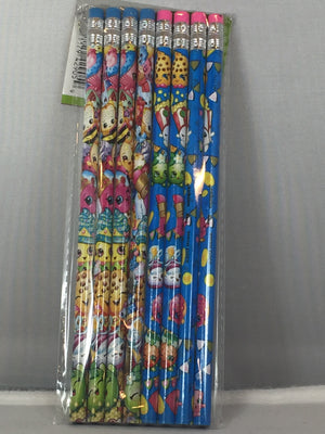 Shopkins Pen- Pack of 8 pencils