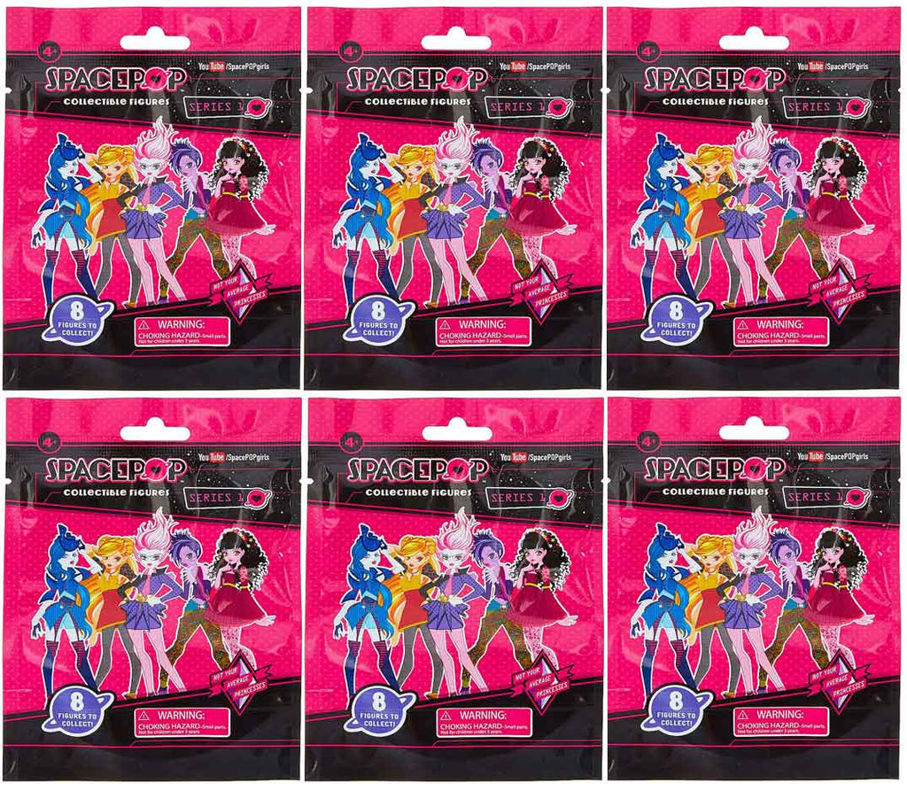 SpacePOP Figures Series 1 (6 Mystery Packs)