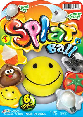 Splat Ball - Smiley Face