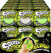 Squish Attack Glow Squooshy Sphere Full case
