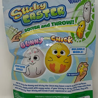 Sticky Easter Chick Back