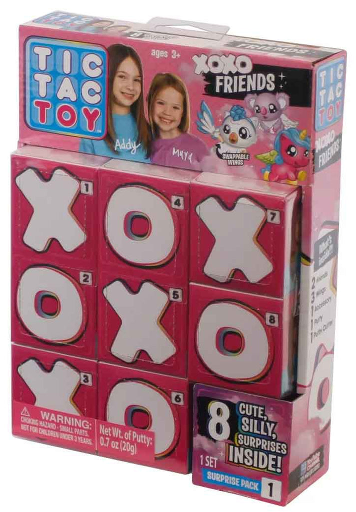 Tic Tac Toy XOXO Friends Putty Packs Complete Set 1-12 New Boxes /& Display