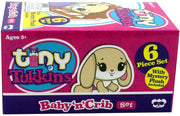 Tiny Tukkins Baby 'n' Crib Mystery Plush Pack
