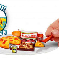 Totally Tiny Fun with Food Sets – (Bundle of 3) pizza party in action