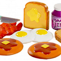 Totally Tiny Fun with Food Sets – (Bundle of 3) rise and shine in action