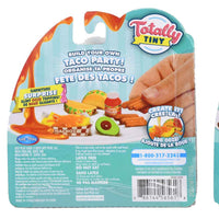 Totally Tiny Fun with Food Sets – (Bundle of 3) back of package