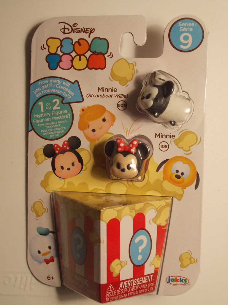 Disney Tsum Tsum Series 9 Minnie Steamboat Willie