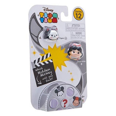 Tsum tsum series 12 - 3 pack - Figaro, Snow White and Hidden Mickey