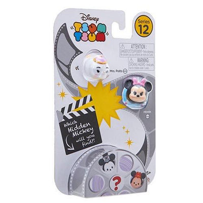 Tsum tsum series 12 - 3 pack - Mrs. Potts, Minnie and Hidden Mickey