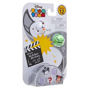 Tsum tsum series 12 - 3 pack - Olaf, Oogie Boogie and Hidden Mickey