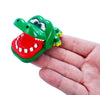 World's Smallest Crocodile Dentist - in hand