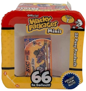 Wacky Packages Minis - Blood Stic (plus 4 Mystery)
