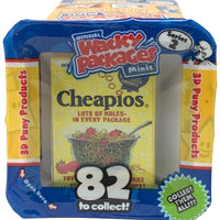 Wacky Packages Minis - Cheapios (plus 4 Mystery) - Series 2