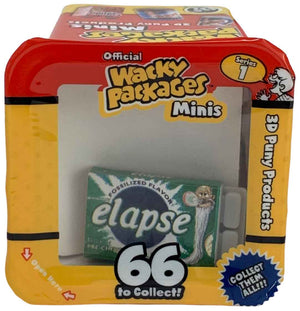 Wacky Packages Minis - Elapse (plus 4 Mystery)