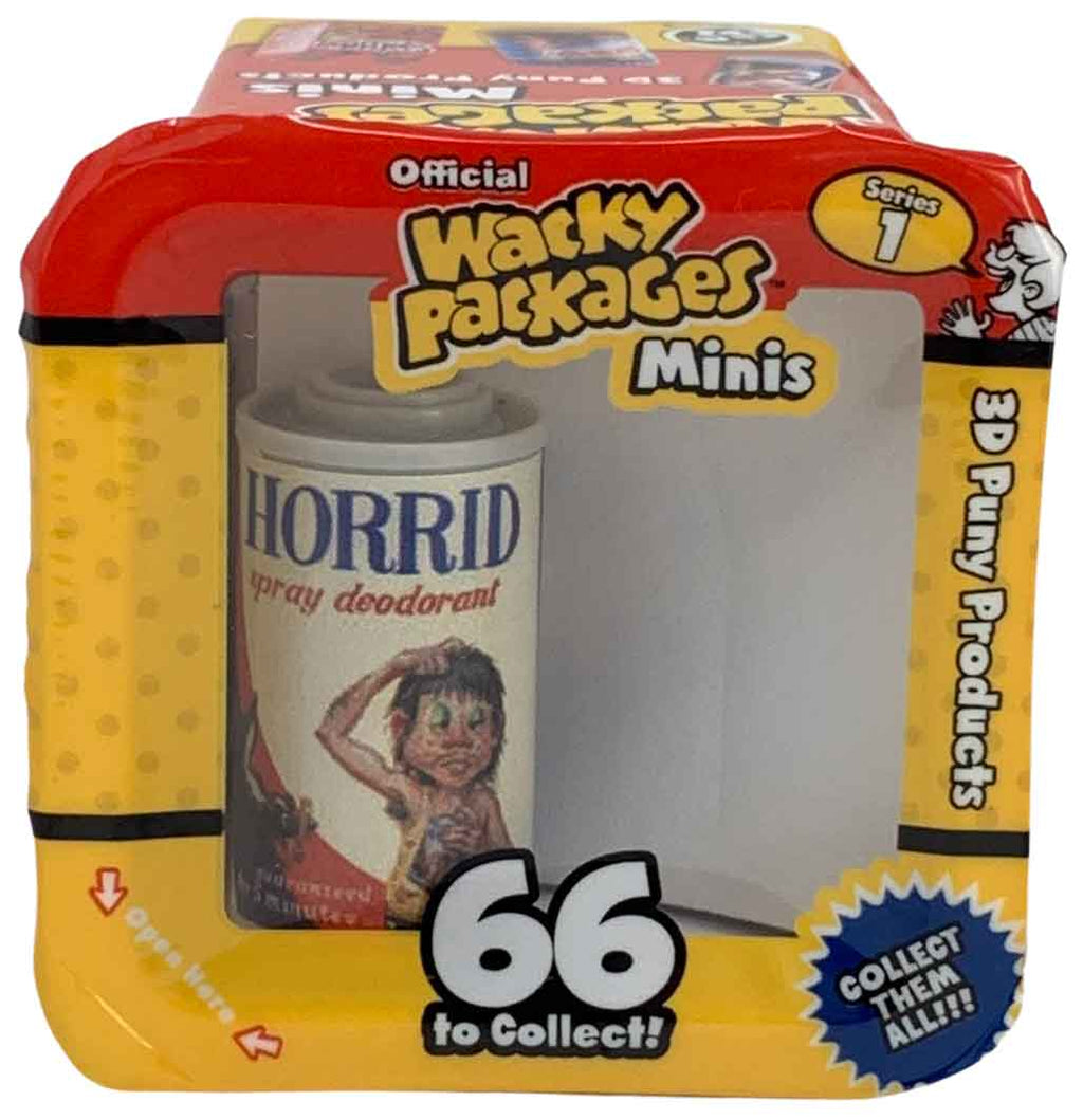 Wacky Packages Minis - Horrid (plus 4 Mystery)