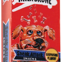Wacky Packages Minis - Milk-Drone (plus 4 Mystery) in action