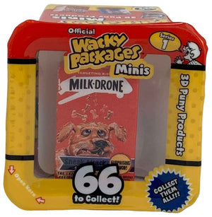 Wacky Packages Minis - Milk-Drone (plus 4 Mystery)