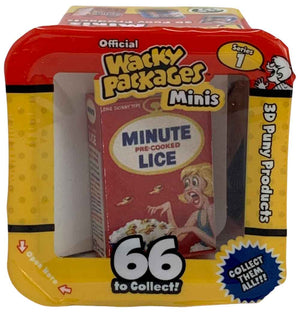 Wacky Packages Minis - Minute Lice (plus 4 Mystery)