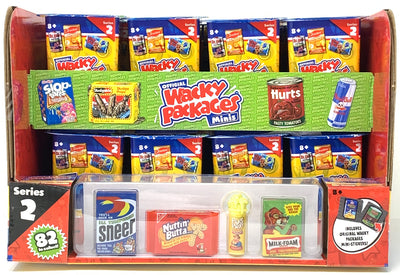 Wacky Packages Minis Series 2 Mystery (Sealed case of 24 Packs)