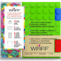 Waff Journal & Cubes Combo Kit (Green) in package