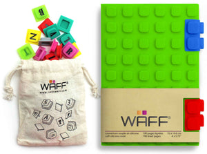 Waff Journal & Cubes Combo Kit (Green)