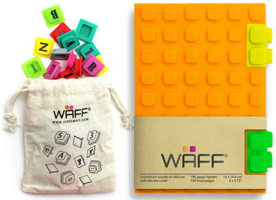 Waff Journal & Cubes Combo Kit (Orange)