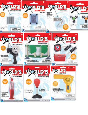 Worlds Smallest by Westminster (Random Set of 5)