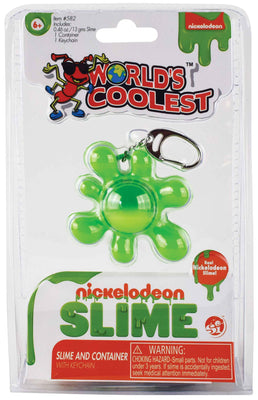 World's Coolest Nickelodeon Slime keychain