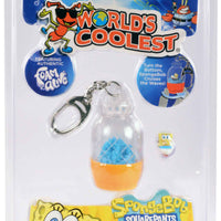 World's Coolest SpongeBob SquarePants pineapple under the sea keychain in package
