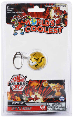 World's Coolest Bakugan Keychain (Gorthion)