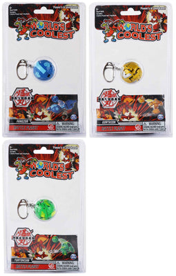 World's Coolest Bakugan Keychain (Bundle of 3)