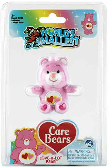 World's Smallest Care Bears Series 2 - Love a Lot Bear