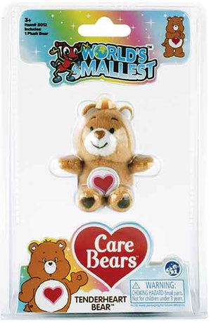 World's Smallest Care Bears Series 2 - Tenderheart Bear