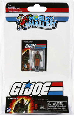 World's Smallest GI Joe vs Cobra - RoadBlock in package